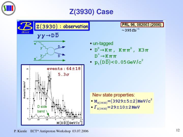 Z(3930) Case