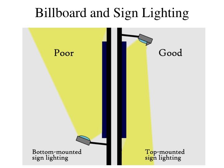 Billboard and Sign Lighting