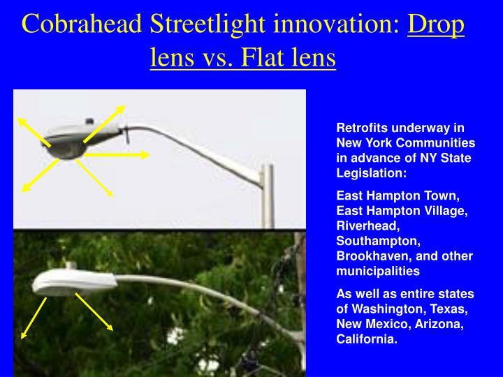 Cobrahead Streetlight innovation: