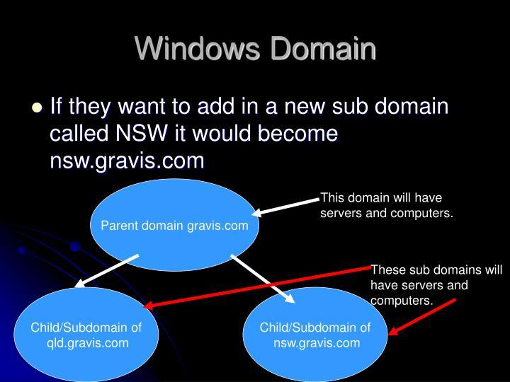 Windows Domain