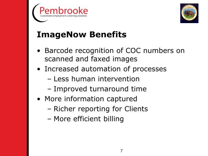 ImageNow Benefits