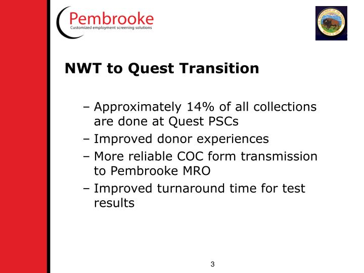 NWT to Quest Transition