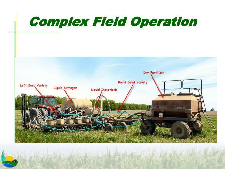 Complex Field Operation