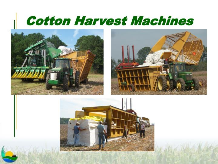 Cotton Harvest Machines