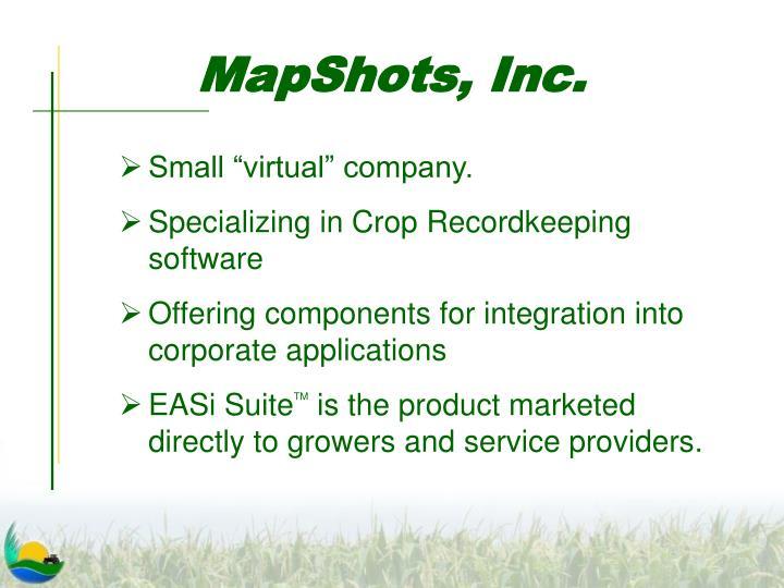 MapShots, Inc.
