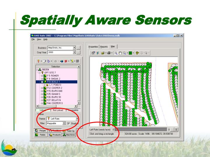 Spatially Aware Sensors