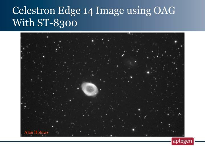 Celestron Edge 14 Image using OAG With ST-8300