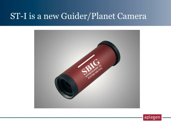 ST-I is a new Guider/Planet Camera