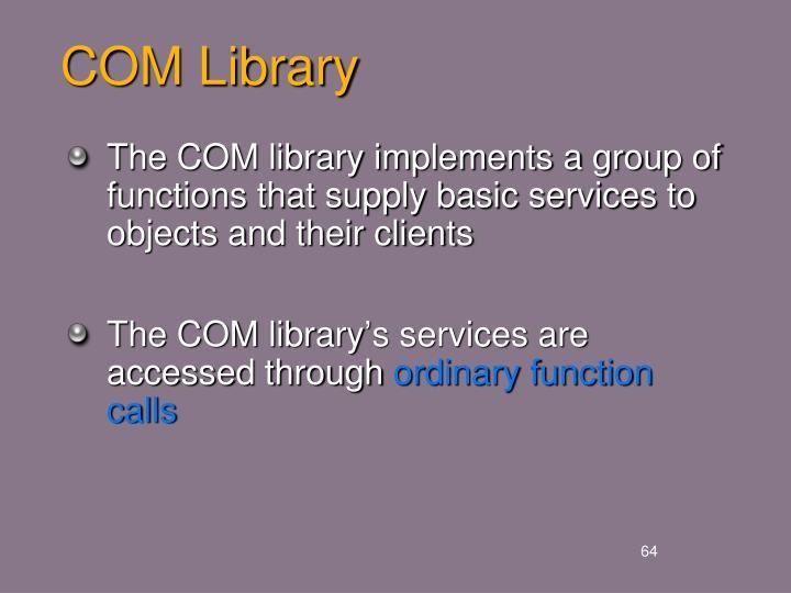 COM Library