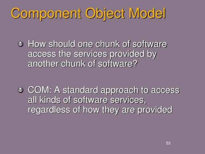 Component Object Model