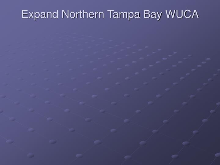 Expand Northern Tampa Bay WUCA