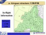 a airspace structure uir fir