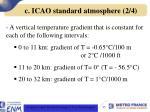 c icao standard atmosphere 2 4