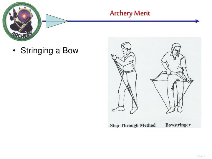Stringing a Bow