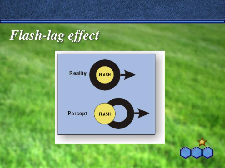 Flash-lag effect