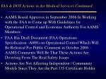 faa dot actions in air medical services continued1