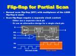 flip flop for partial scan
