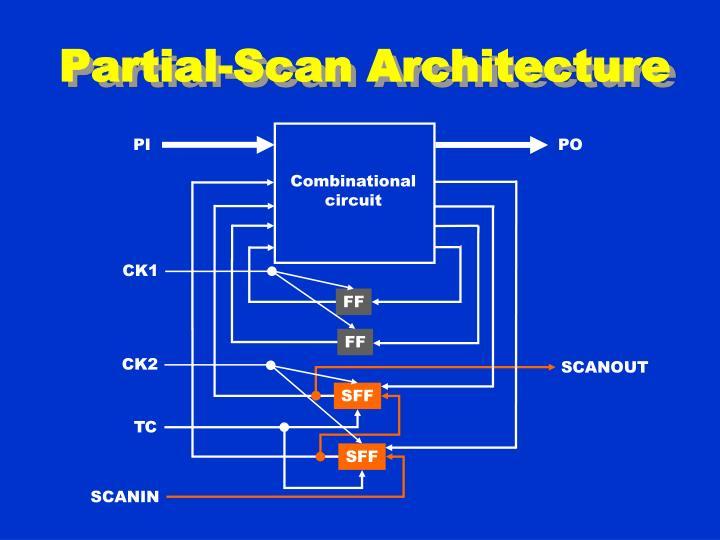 Partial-Scan Architecture