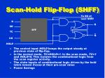 scan hold flip flop shff