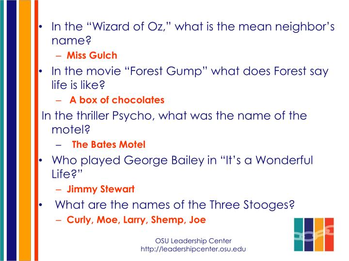 """In the """"Wizard of Oz,"""" what is the mean neighbor's name?"""