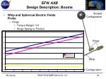 efw axb design description booms3