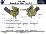 efw axb design description direct drive