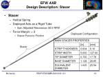 efw axb design description stacer