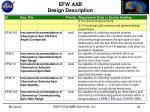 efw axb design description1