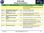 efw axb design description5