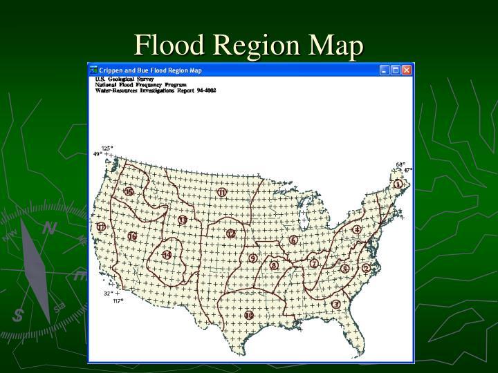 Flood Region Map