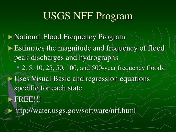 USGS NFF Program