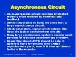 asynchronous circuit