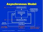 asynchronous model
