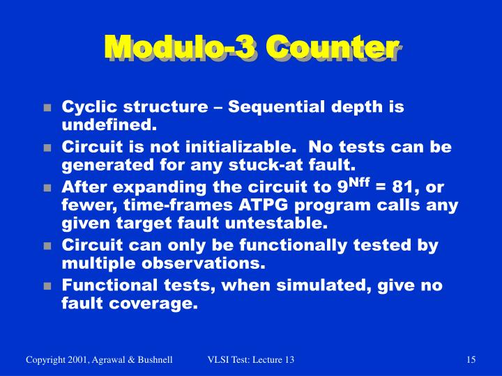 Modulo-3 Counter