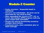 modulo 3 counter