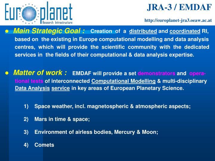 JRA-3 / EMDAF
