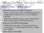 cyber crimes what s new