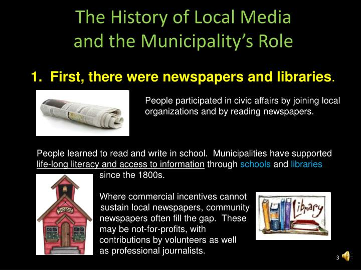 The History of Local Media