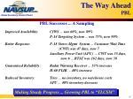 the way ahead pbl8