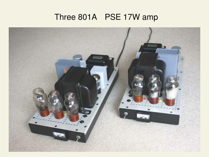 Three 801A