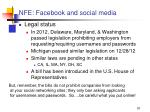 nfe facebook and social media1