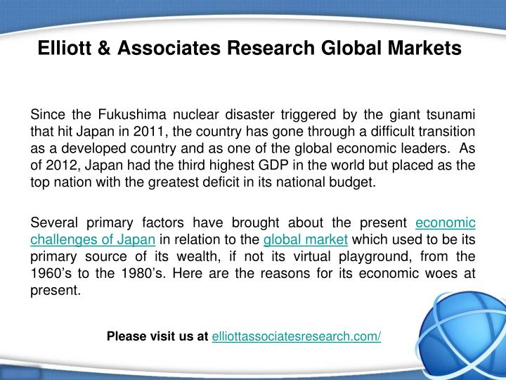 Elliott associates research global markets