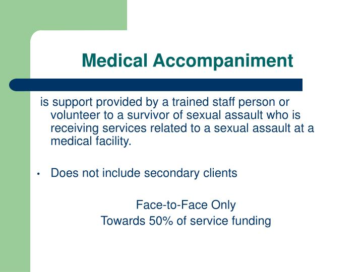 Medical Accompaniment