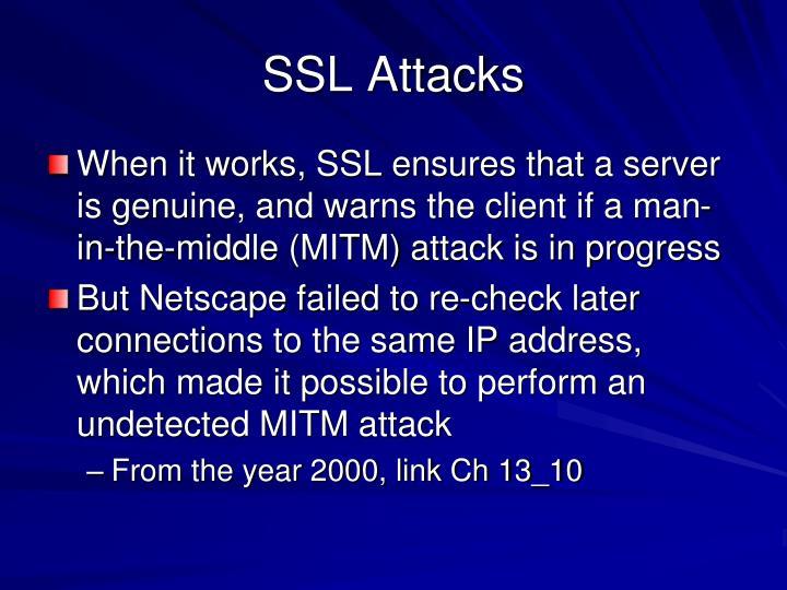 SSL Attacks