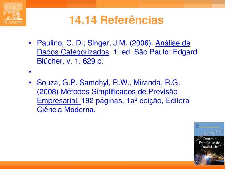 14.14 Referências