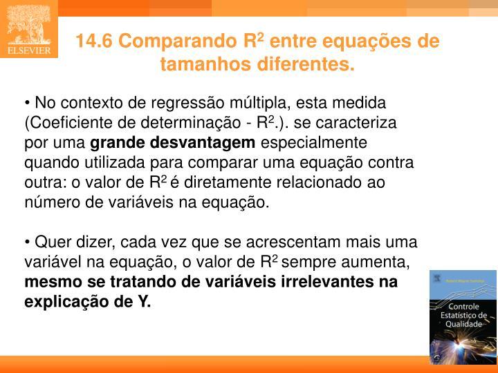 14.6 Comparando R