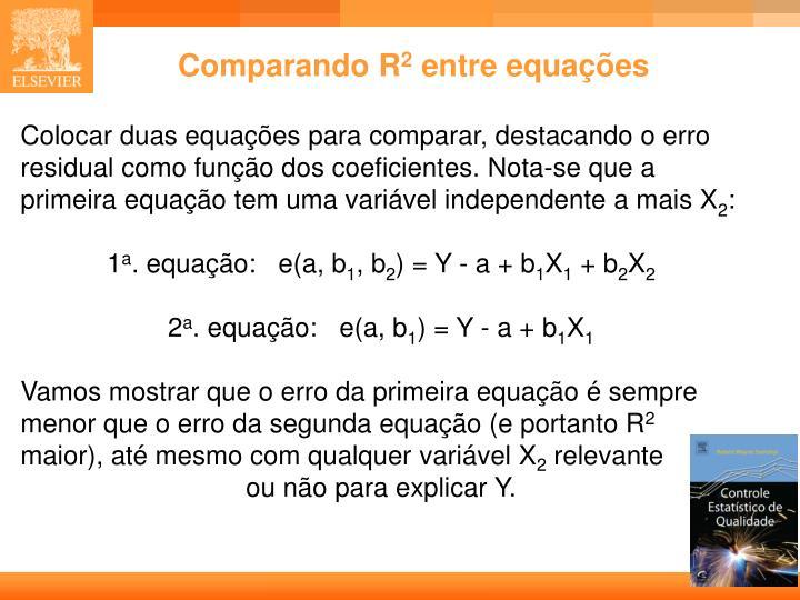 Comparando R