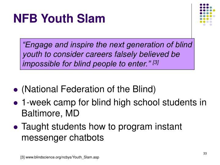 NFB Youth Slam