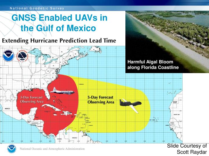 GNSS Enabled UAVs in the Gulf of Mexico