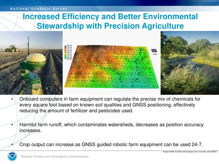 Increased Efficiency and Better Environmental Stewardship with Precision Agriculture